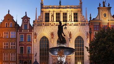 Gdańsk (Fontanna Neptuna)