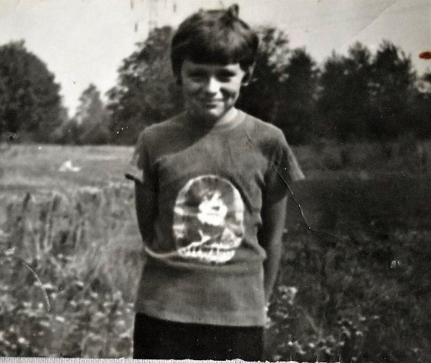 Michał Jędryka w dzieciństwie (fot. Archiwum prywatne)