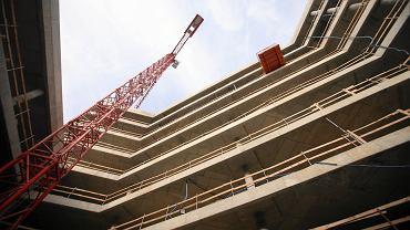 Budowa budynku hotelowo-biurowego Posejdon w Szczecinie
