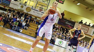 Basket Liga Kobiet: InvestInTheWest AZS AJP Gorzów - Basket 90 Gdynia 71:61 (10:19, 14:10, 25:16, 22:16). Stephanie Talbot