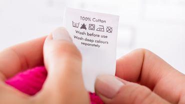 Symbole prania. Zdjęcie ilustracyjne