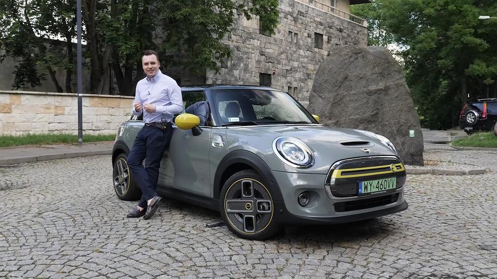 Tomasz Korniejew i elektryczne Mini