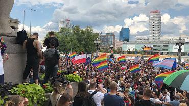 'Warszawa przeciw przemocy. Solidarni z Białymstokiem'