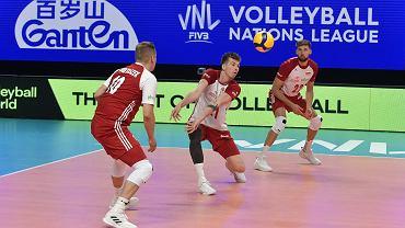 Liga Narodów: Polska - Włochy 3:0, siatkarze, siatkówka