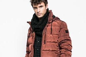 Stylowe kurtki męskie w odważnych kolorach - rdza, burgund i błękit