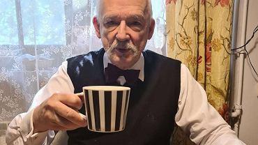 Janusz Korwin-Mikke stosuje nową dietę