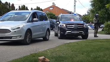 Zatrzymanie na Węgrzech podejrzanego o zamach bombowy