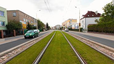 Zielone torowisko na Winogradach