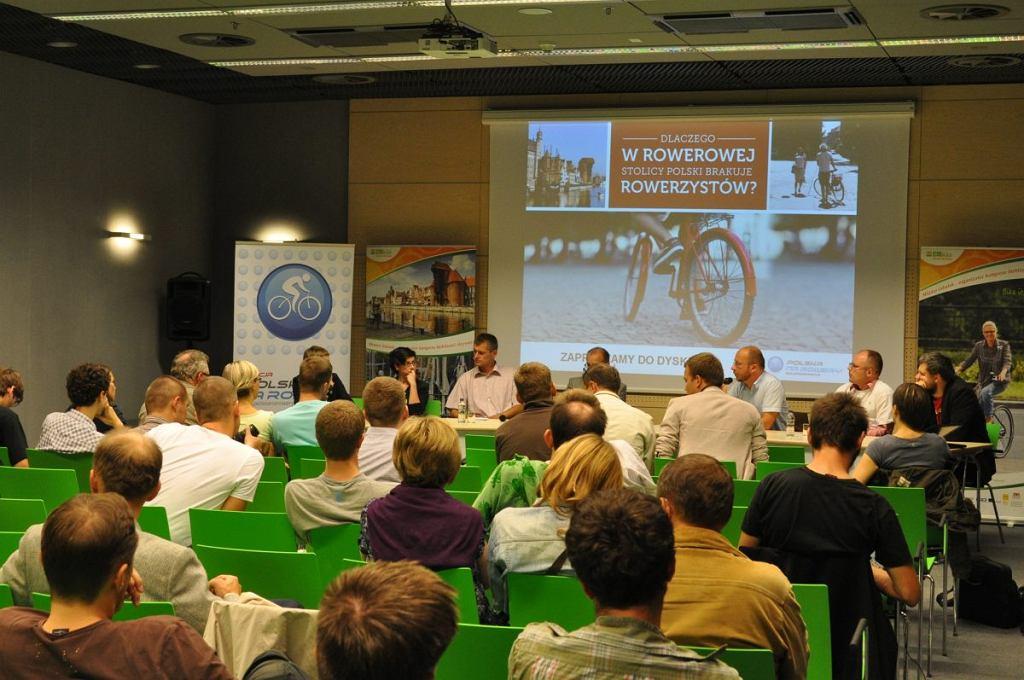 Debata Polski na Rowery w Gdańsku