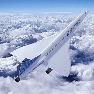 Naddźwiękowy samolot pasażerski firmy Boom
