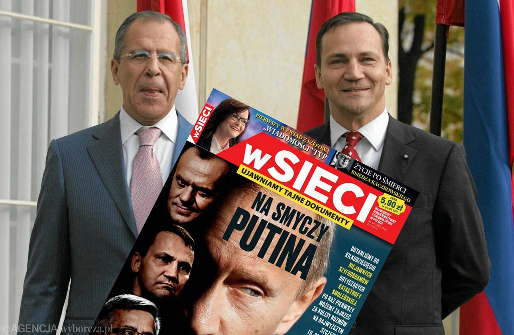 Siergiej Ławrow i Radosław Sikorski na spotkaniu w Łazienkach Królewskich w październiku 2010 r.