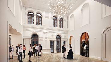 Wizualizacje projektu przebudowy Teatru Żeromskiego w Kielcach