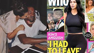 """Kim Kardashian i Kanye West rozstali się? """"Musiała odejść"""". Celebrytka miała dosyć"""