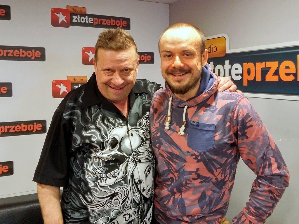 Jarek Janiszewski i Jerzy Elvis Telesiński