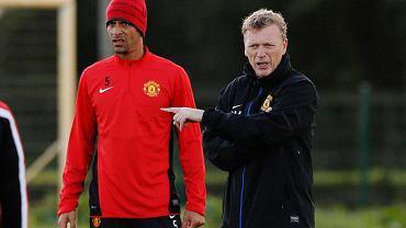 Rio Ferdinand i David Moyes