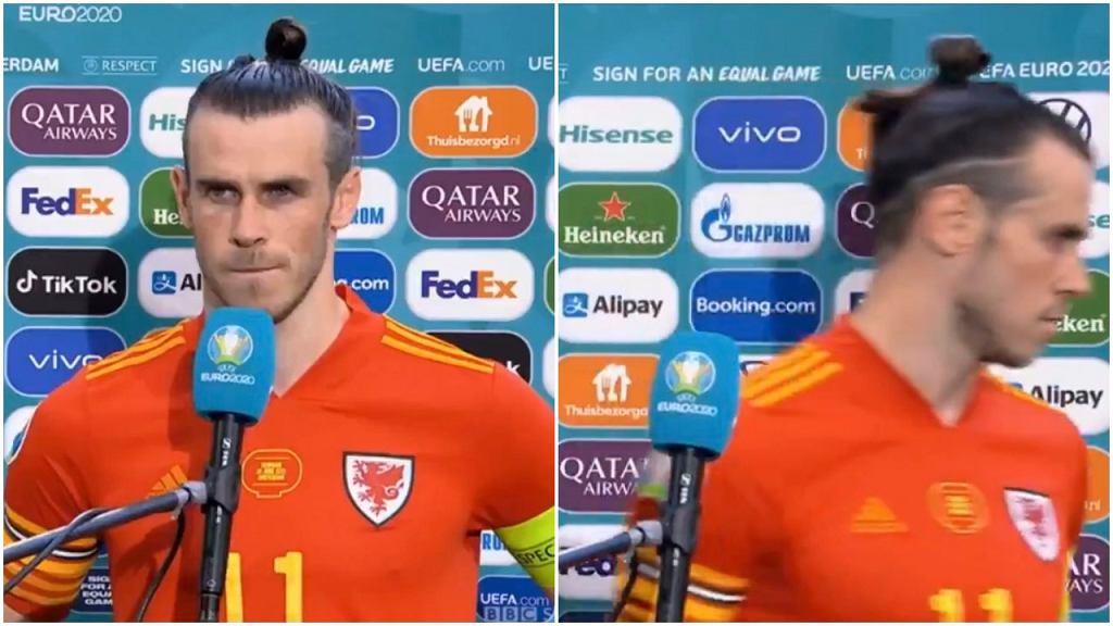 Gareth Bale odchodzi bez słowa po pytaniu od dziennikarza