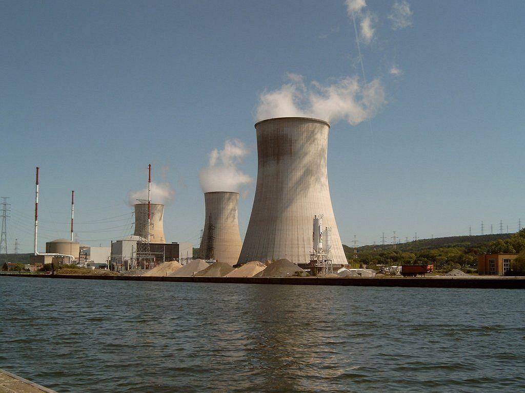 Elektrownia atomowa, Belgia (zdjęcie ilustracyjne)
