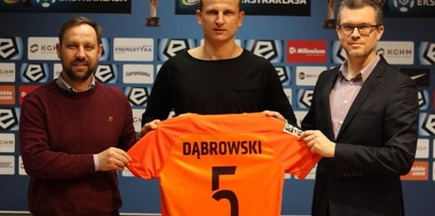 Maciej Dąbrowski zawodnikiem Zagłębia Lubin