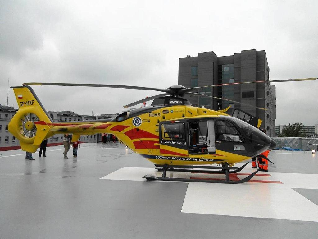Lądowisko na dachu szpitala MSWiA przy Wołoskiej