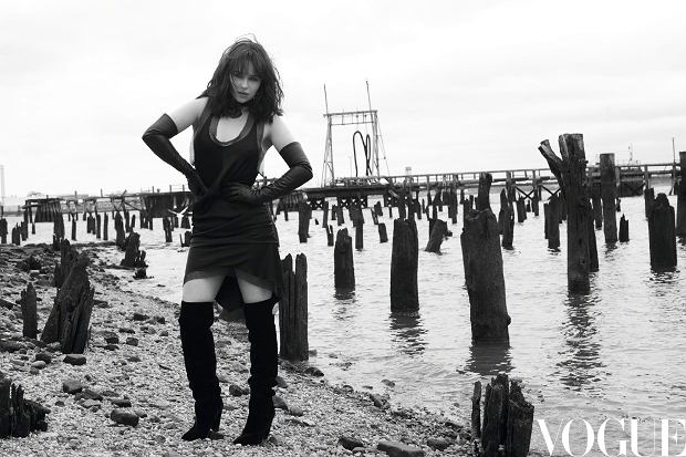 Emilia Clarke w nieudanej sesji dla 'Vogue China'