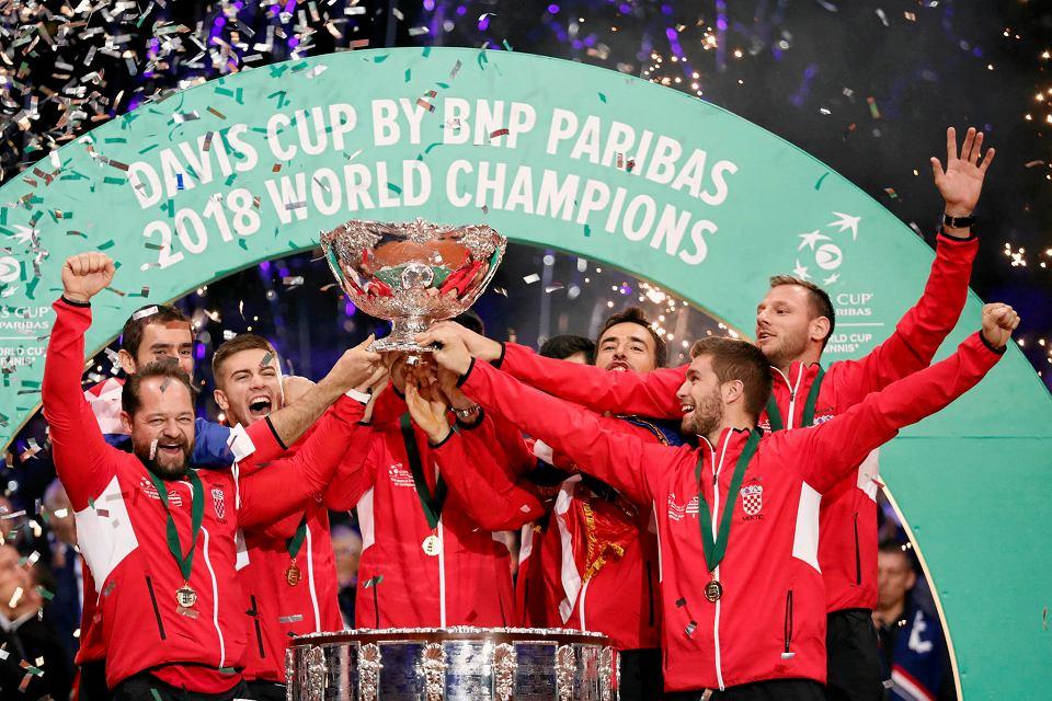 Chorwaci świętują zdobycie Pucharu Davisa