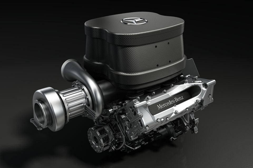 Silnik V6 Turbo Mercedes AMG dla teamu Williams na rok 2014