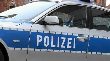 Radiowóz policji niemieckiej