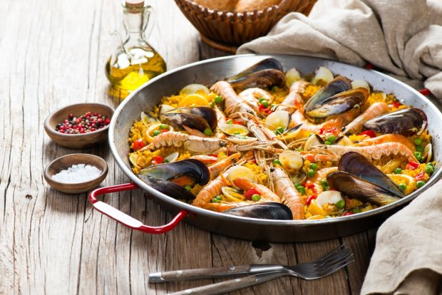 Paella Patelnia Wszystko O Gotowaniu W Kuchni Ugotujto