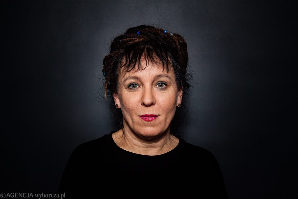 Portret Olgi Tokarczuk