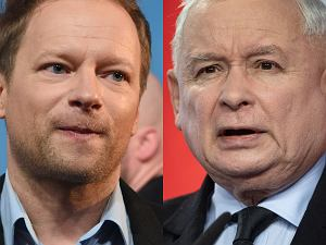 Maciej Stuhr, Jarosław Kaczyński