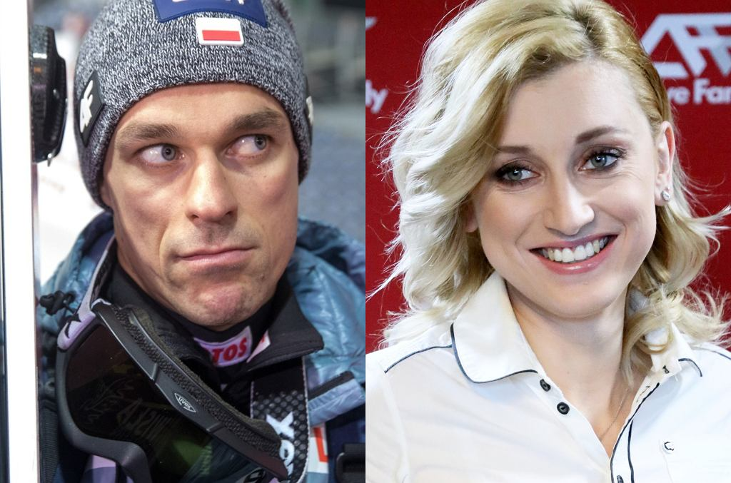 Piotr Żyła / Justyna Żyła