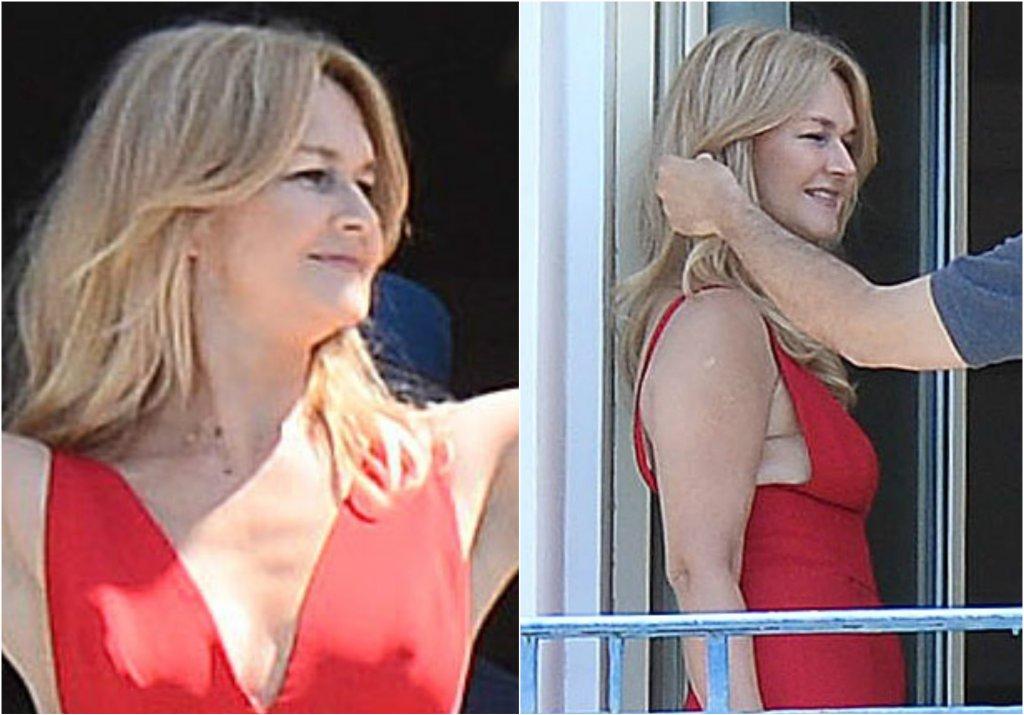 Grażyna Torbicka bawi aktualnie w Cannes, do którego pojechała na Międzynarodowy Festiwal Filmowy. Jednak w międzyczasie korzysta z pięknej pogody, a paparazzo uwiecznił na zdjęciach chwile, gdy uczestniczyła w sesji zdjęciowej na balkonie w hotelu Martinez. Słońce i muskający twarz wiatr - Torbicka nie mogła wymarzyć sobie lepszej scenerii.