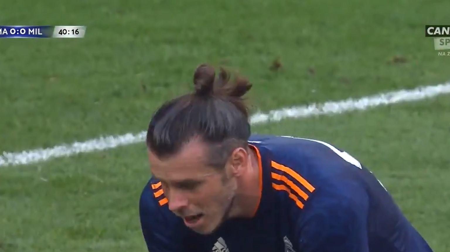 Gareth Bale s-a întors la Real Madrid și a plecat la lovitură de pedeapsă.  Fără comentarii [WIDEO] Becca Nona