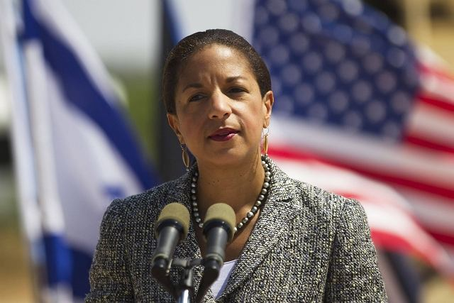 Susan Rice, doradczyni Baracka Obamy ds. bezpieczeństwa podczas wizyty w Izraelu