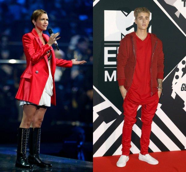 Ruby Rose, Justin Bieber