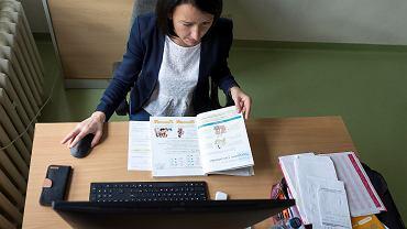 Katowice, zdalne lekcje w Szkole Podstawowej nr 11