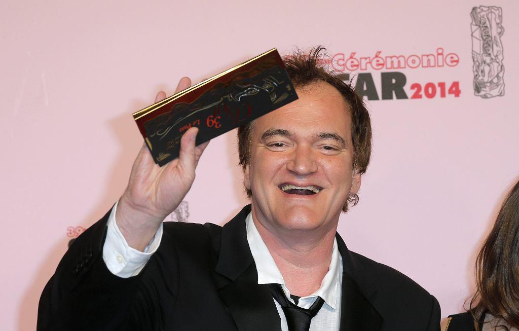 Quentin Tarantino przed ceremonią rozdania Cezarów