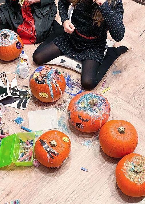Karolina Pajączkowska świętuje Halloween