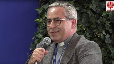 Dyrektor Caritas Polska, ks. Marcin Iżycki