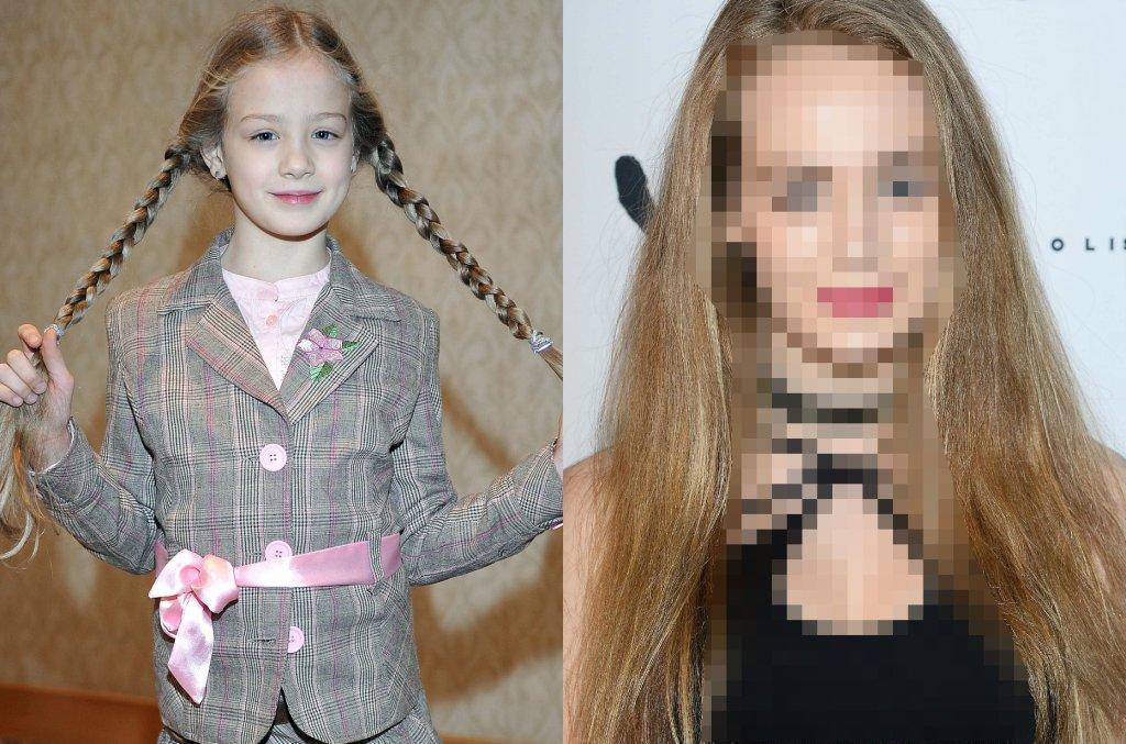 Wiktoria Gąsiewska w wieku 6 lat zadebiutowała epizodyczną rolą w