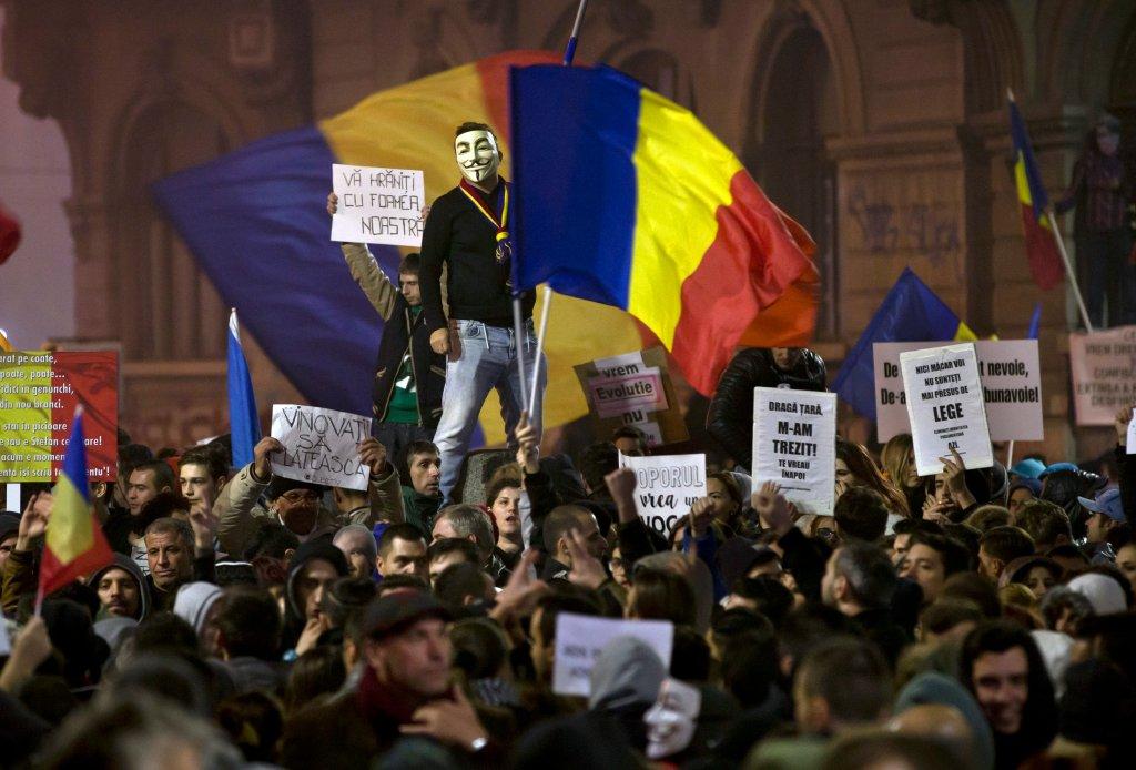 Rumuni protestują przeciw rządowi