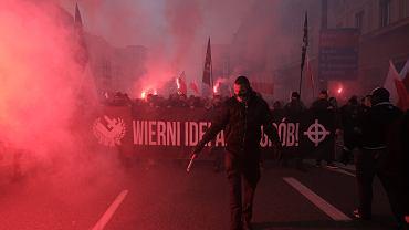 Obchody 102. rocznicy odzyskania Niepodległości przez Polskę, Warszawa 11.11.2020