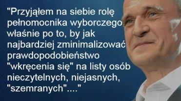 Paweł Kukiz o listach wyborczych