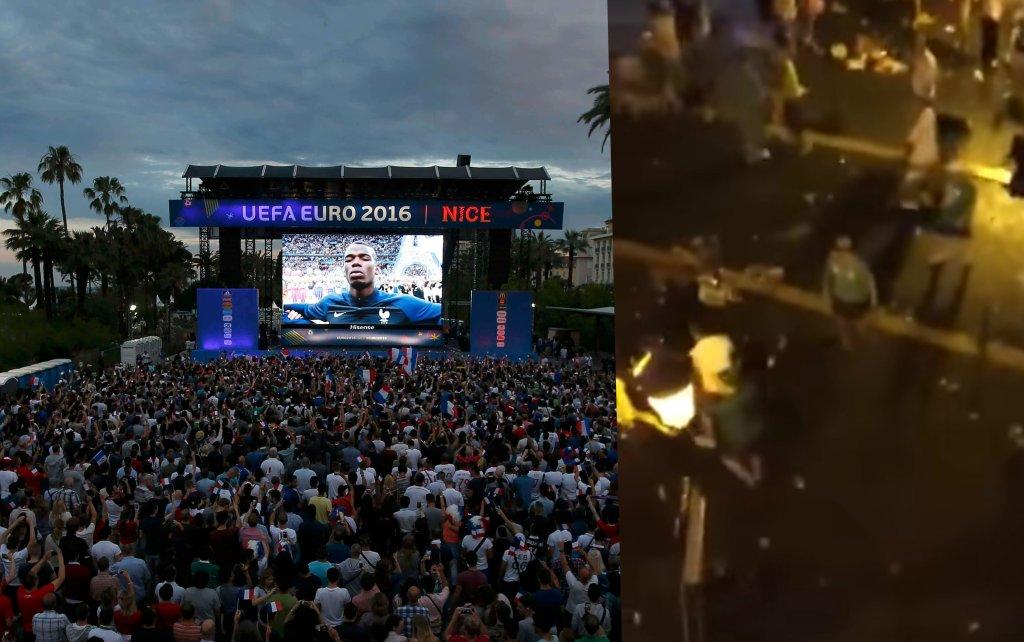 Polski kibic ranny w Nicei