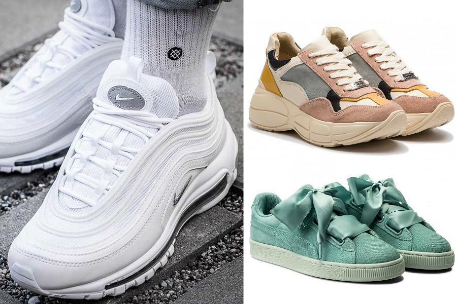 Markowe buty sportowe