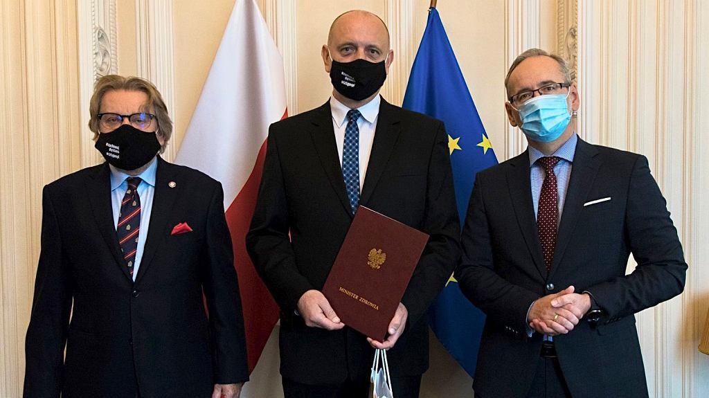 Krzysztof Saczka, p.o. Głównego Inspektoratu Sanitarnego.
