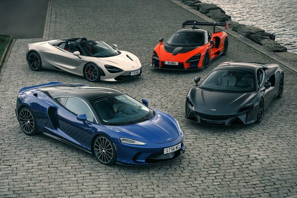 Supersamochody McLarena są podobne do siebie. Nie bez powodu