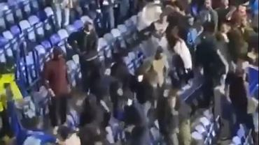 Zamieszki na trybunach meczu Leicester City - Napoli