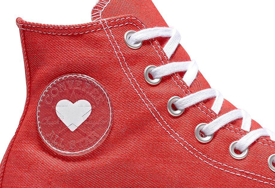 Walentynkowa kolekcja Converse