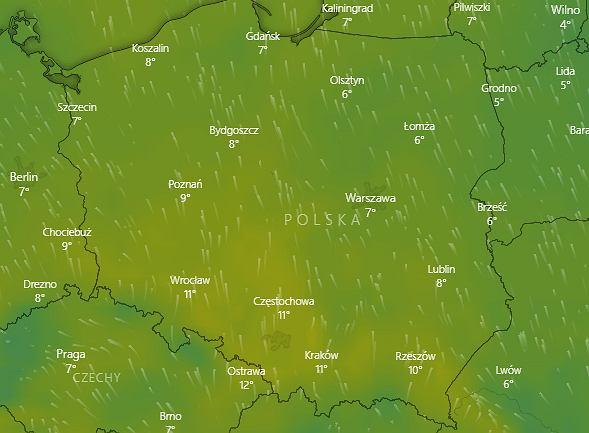 Fala ciepła nad Polską. Prognoza na piątek 20 grudnia